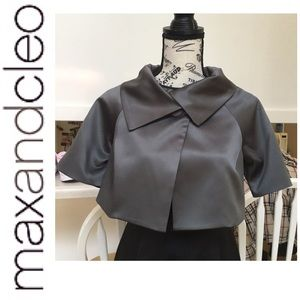 Max and Cleo Dinner Cape/Cropped Jacket  XSmall